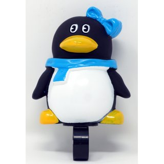Fahrrad Hupe für Kinder Ballhupe Design Pinguin - 01180124