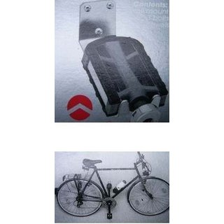 2x Point Fahrrad Wandhalter Pedalaufhängung