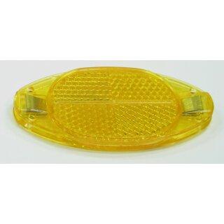 Speichenreflektoren gelb ( orange ) 1 Satz = 4 Stück