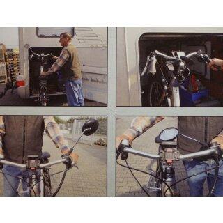 KRAMPE KF1 20° Fahrradspiegel stabil klappbar