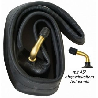 """2x 12"""" Schlauch 12 1/2 x 2 1/4 = 62-203 45° Winkel-Autoventil"""