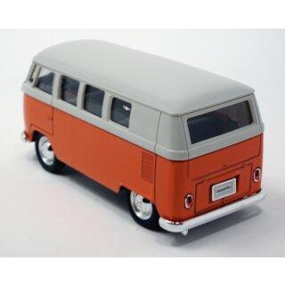 Volkswagen Bus T1 VW Bulli 1963 mit Rückziehmotor orange / beige