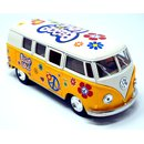 Volkswagen VW Bus T1 Bulli Peace and Love gelb / beige...