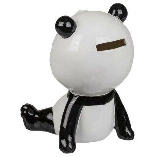 Keramik Spardose sitzender Panda