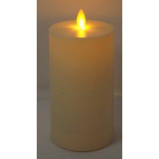 LED Kerze für Außen- und Innenbereich elfenbein mit Timer 11/14/20 cm 8 x 14 cm