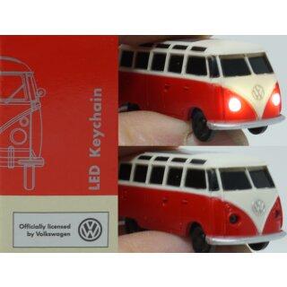 Schlüsselanhänger Modellauto VW T1 Bus 1963 mit Beleuchtung