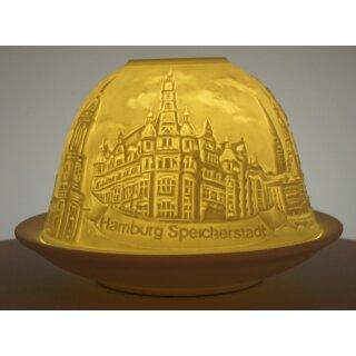 Dome Light Hamburg Speicherstadt Rathaus Michel