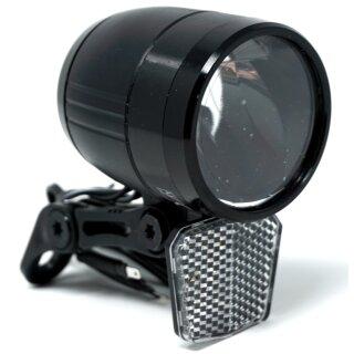 E-Bike LED Scheinwerfer 100 Lux 6 - 48 Volt