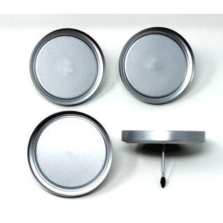 4 Kerzenhalter ohne Dorn für LED Kerzen bis 7 cm Durchmesser