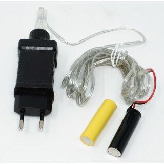 Netzteil Batterie Adapter 3 Volt als Batterieersatz für 2 AA Batterien