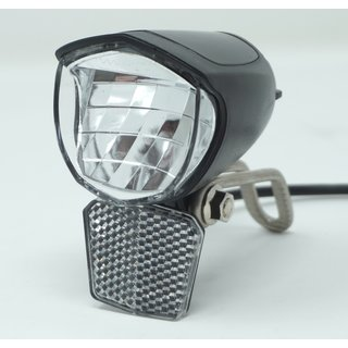 E-Bike LED Scheinwerfer 75 Lux 6 - 48 Volt